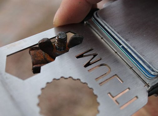 The MULTI Tool/Wallet — Bags -- Better Living Through Design
