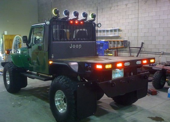 Jeep Wrangler - Flatbed Style