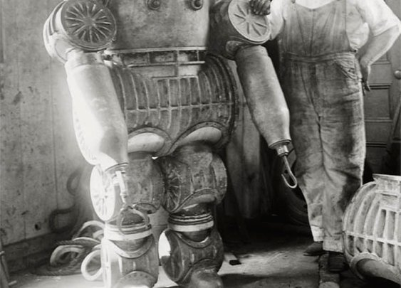 Antique Diving Suits