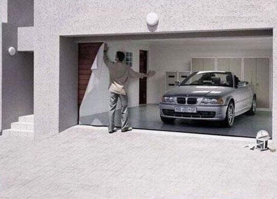 11 Awesome Garage Doors - StumbleUpon