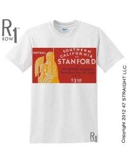 Stanford Football Ticket Shirt by ROW 1.™ 47 STRAIGHT LLC