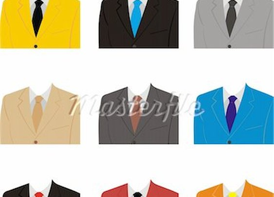 Men's suit color combos