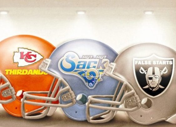 Honest NFL Logos - StumbleUpon