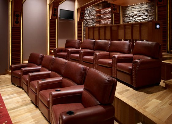 Movie Theater Design Ideas, Pictures, Remodel, and Decor