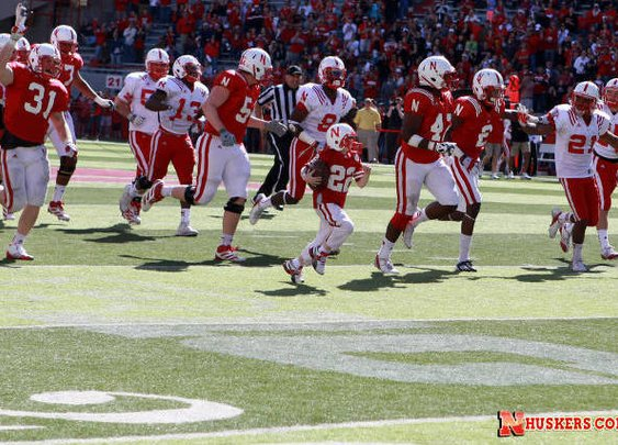 Watch 7-Year-Old Score Emotional TD at Nebraska Spring Game