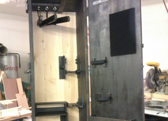 Two-tone Tactical Equipment Locker