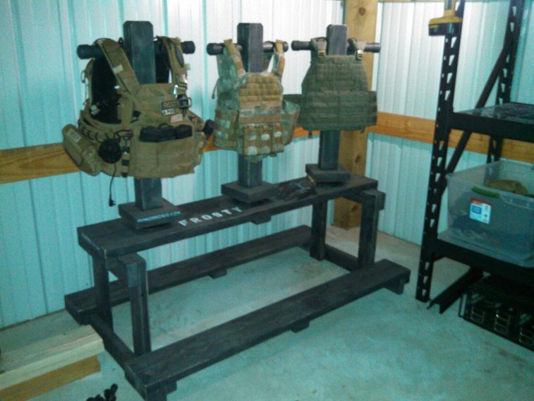 Tactical Gear Display By Special Request Gentlemint Best Tactical Gear Display Stand