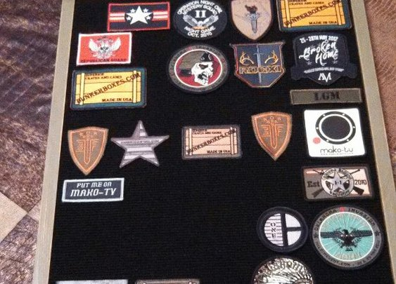Morale Patch display board - MINE !!!