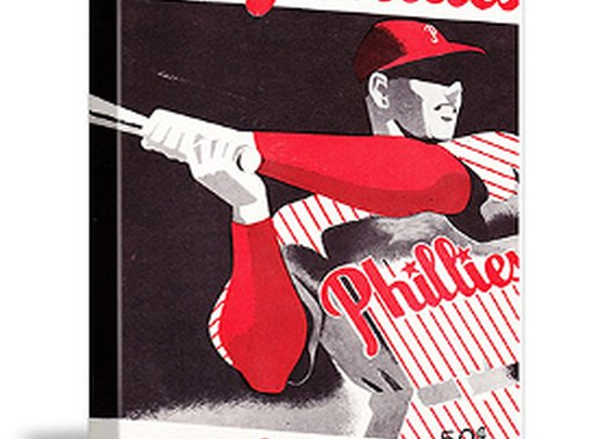 Philadelphia Phillies Father's Day Gifts, Vintage Baseball art
