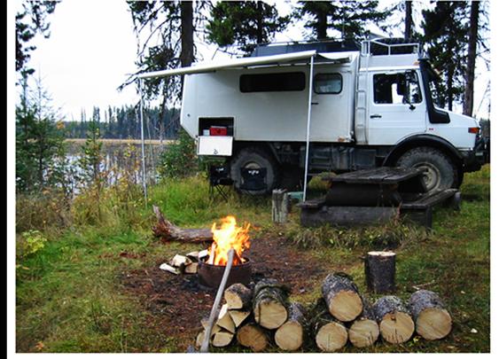 Unimog 4x4 Camper