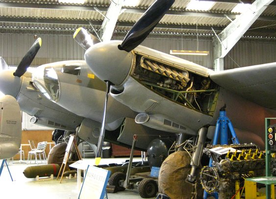 RAF Mosquito and Amiens Prison Raid