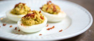 Bacon Deviled Eggs | Civilized Caveman Cooking Creations