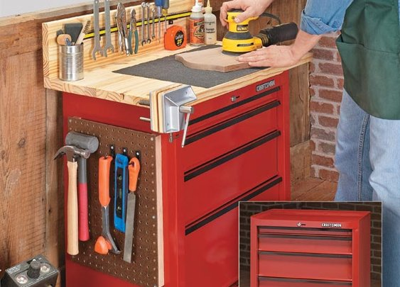 Tool Cabinet Upgrade | Woodsmith Tips