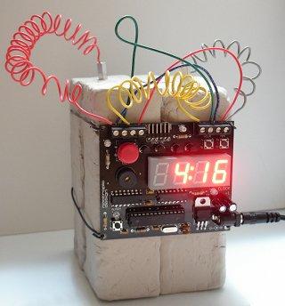 Defusable (and Hackable) Alarm Clock
