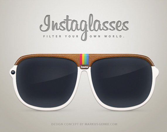Instaglasses Instagram Glasses by Markus Gerke
