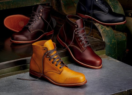 1,000 Mile Boots By Wolverine