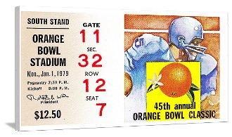 College Football Art, Vintage Football Art, OU Football Art