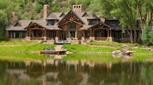 Colorado Timberframe Estate