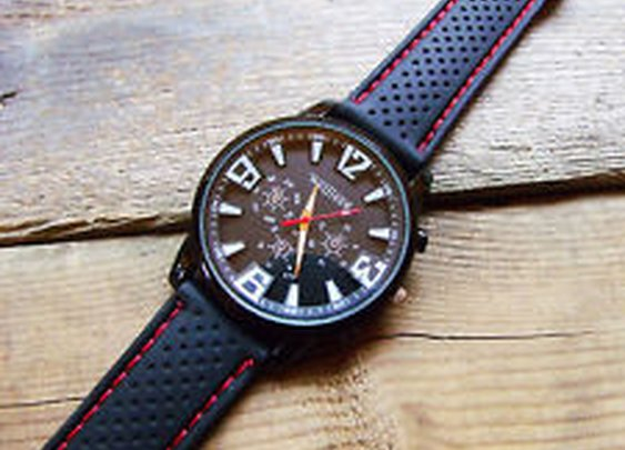 Tactical Watch 40 MM-Balistic Rubber Band