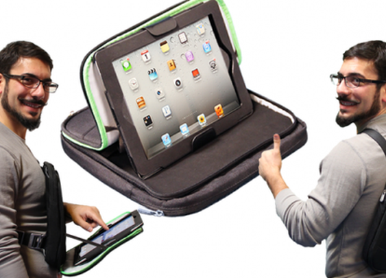 Trego allows users to wear their iPad