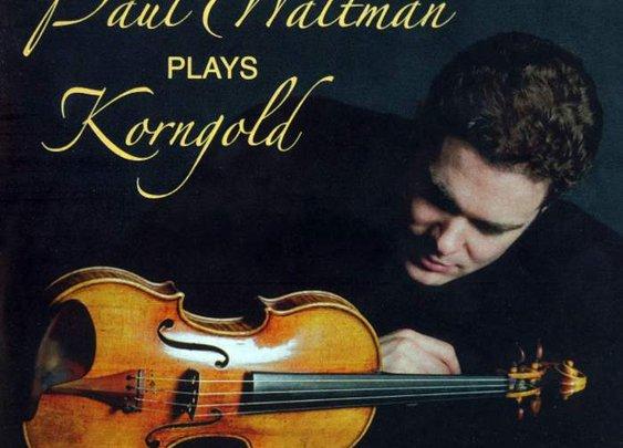 Erich Wolfgang Korngold – Violin Concerto in D – Swedish Radio Symphony Orchestra, Paul Waltman, David Bjorkman