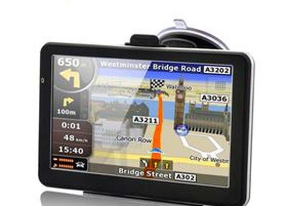 5 inch Touchscreen Resistive Car GPS Navigator( Microsoft  WinCE 5.0 System /FM/Simple Menu/Speakers/E-book/4GB TF Card) - GeekBuying.com