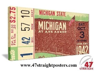 Michigan Wolverines Football Tickets, Michigan Wolverines Father's Day Gifts
