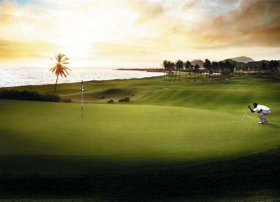 Golfing in Paradise: StKitts
