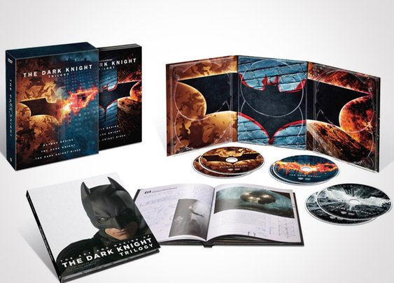 The Dark Knight Trilogy Blu-ray - Headlines & Heroes