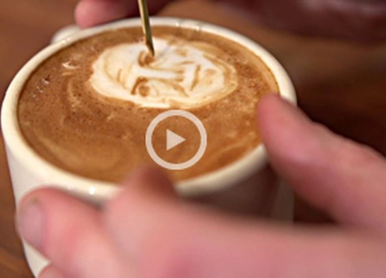 Barista Coffee Art Portraits by Mike Breach Video | Cool Material