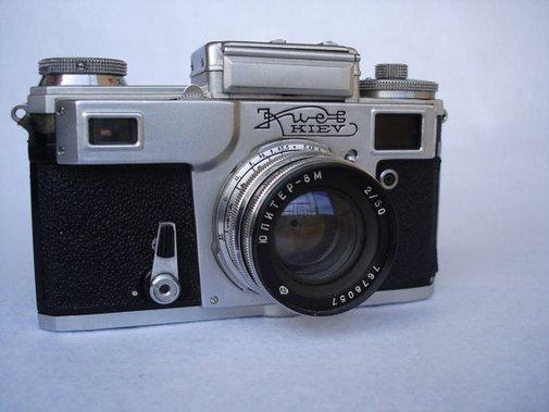 Kiev 4A Vintage Russian Camera Working by PrettyTurkishThings