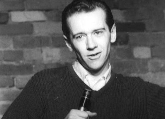 Young (and rather clean shaven) George Carlin