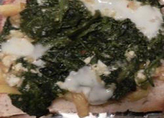 Vafa's Potato-Spinach Pide