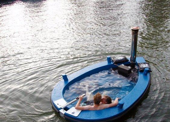 The Hot Tug Hot Tub Boat