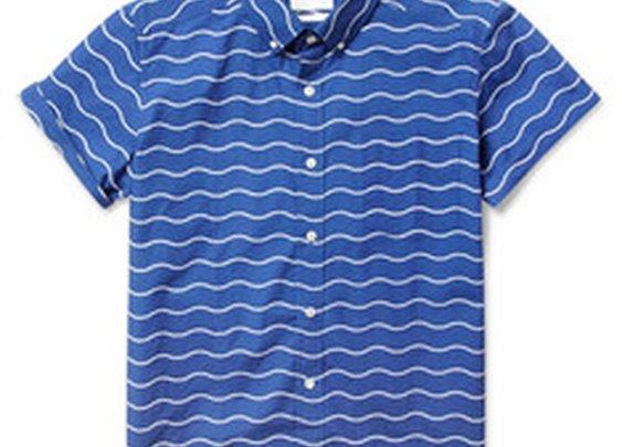 Saturdays Surf NYCEsquina Short-Sleeved Wave-Print Cotton Shirt|MR PORTER