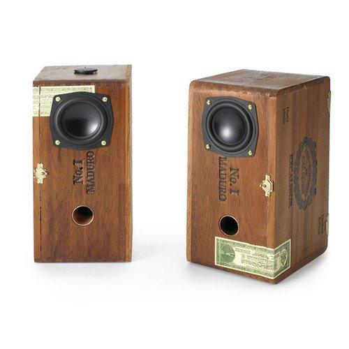 Sweet Cigar Box Speakers