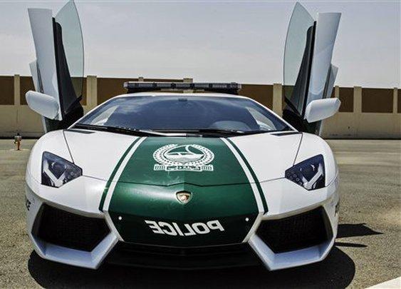 Bling patrol: Dubai's $550,000 Police Squad Car