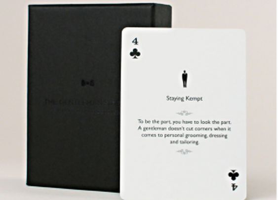 Gentlemen playing cards