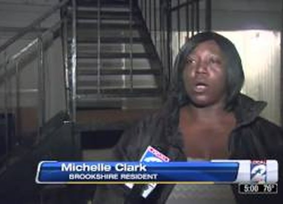 Local Woman Interviewed About Intense Hail Storm