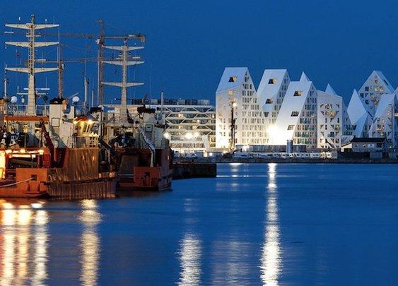 Gorgeous Iceberg Housing in Aarhus, Denmark | LauraJul