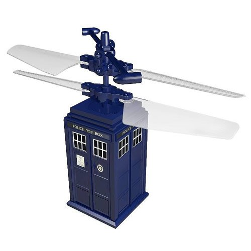 Remote Control Flying TARDIS