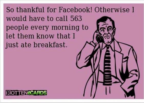 Thanks Facebook!