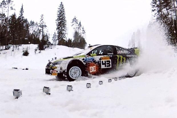 Ken Block Takes to the Snow-Covered Forests of the Russian Winter | Hypebeast