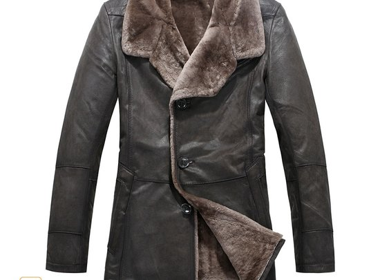 Mens Shearling Coats