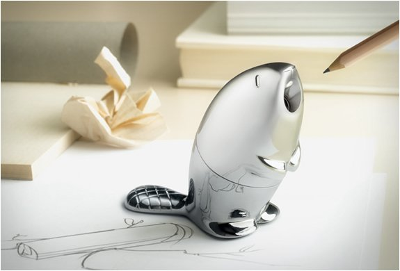 BEAVER PENCIL SHARPENER | BY ALESSI