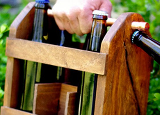 Home Brew Six Pack Carrier | Cool Material