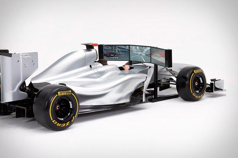 Formula 1 Full Size Racing Simulator | Uncrate