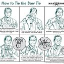 How to Tie a Bow Tie   The Art of Manliness