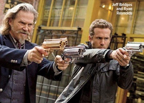 Ryan Reynolds And Jeff Bridges Team Up In First Image From R.I.P.D (Rest in Peace Department)