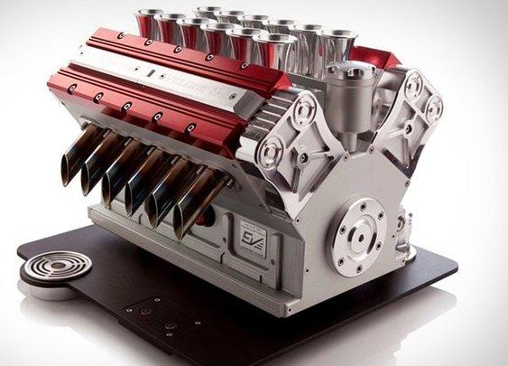 Automotive Art: Espresso Veloce V12 Machine
